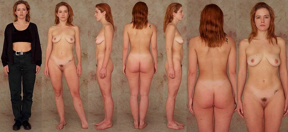 nude female all sides